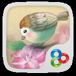 Love Bird GO Launcher Theme v1.0