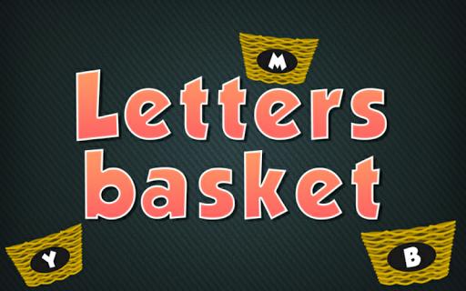 Letters Basket