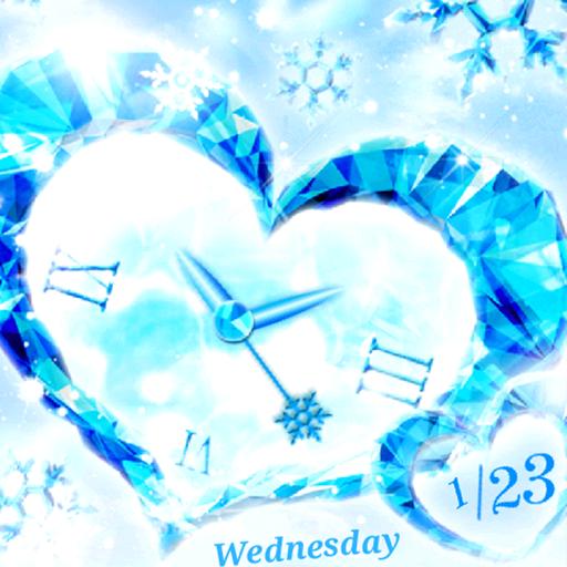 Crystal Heart ライブ壁紙 トライアル版 個人化 App LOGO-APP開箱王