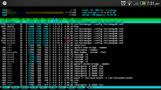 JuiceSSH - SSH Client - screenshot thumbnail