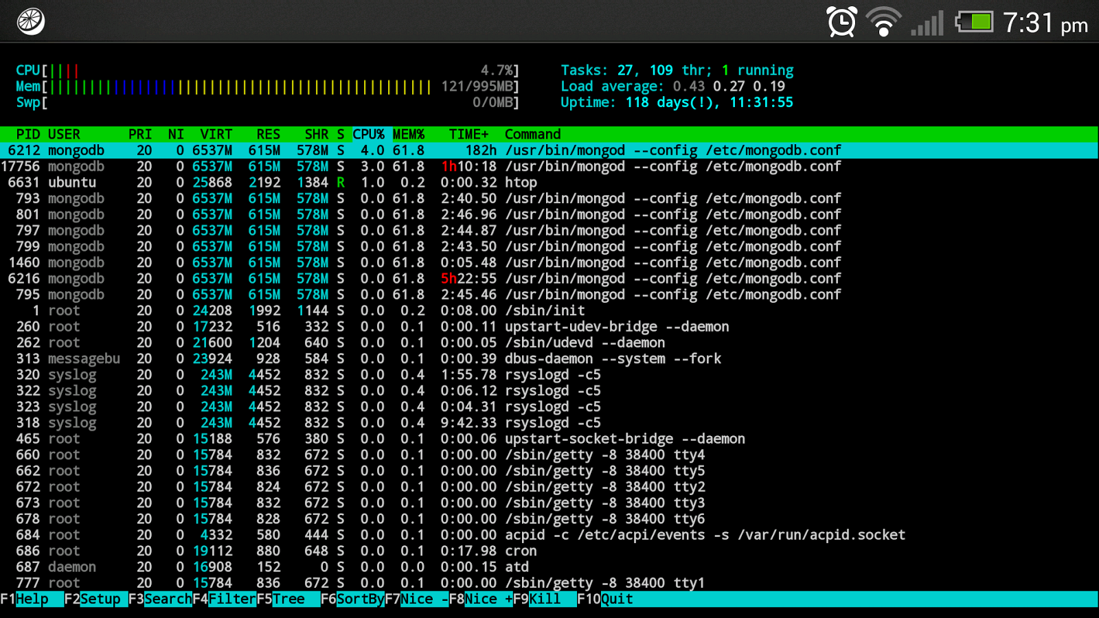 JuiceSSH - SSH Client - screenshot