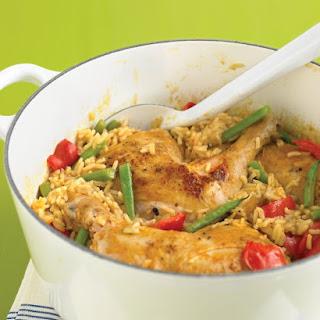 Spicy Coconut Chicken Casserole.