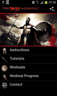 The 300 Gym Workout- screenshot thumbnail