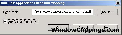 Deploying ASP net MVC to IIS 6 still returns 404 – Ben