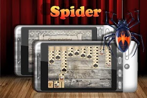 Screenshot of Spider Solitaire Free
