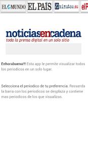 Periódicos España - náhled