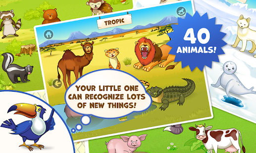 Zoo Playground: Kids game set- screenshot thumbnail