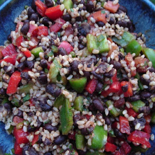 Mediterranean Brown Rice Salad.