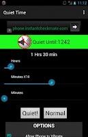 Screenshot of Silence / Quiet Time