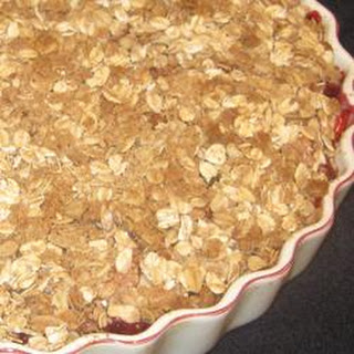 Apple-Raspberry Crisp.