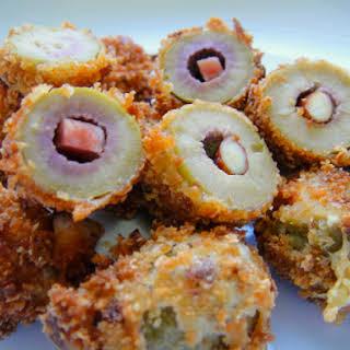 Fried Stuffed Olives.