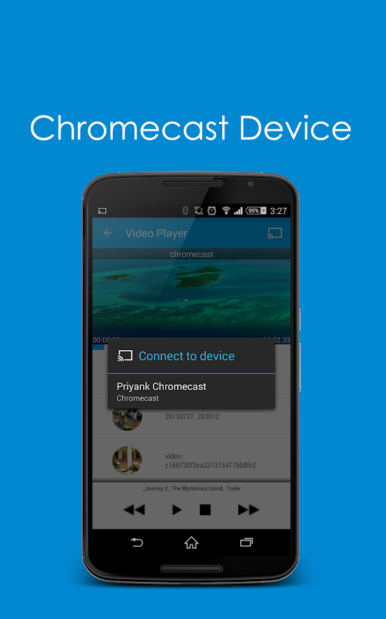 how to connect phone to tv using chromecast