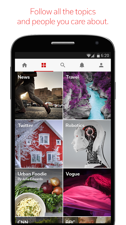 Flipboard: Your News Magazine - screenshot