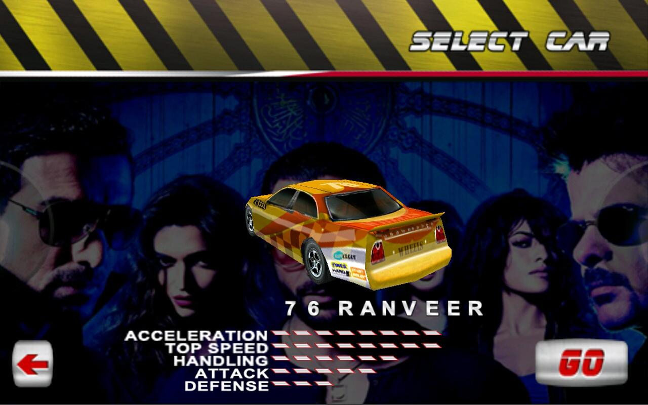 Race 2- screenshot