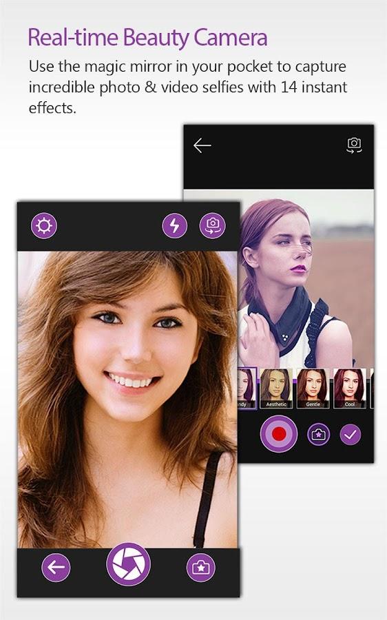 YouCam Perfect - Selfie Cam - screenshot