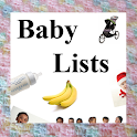 Baby Lists icon