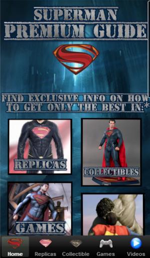 Superman Premium Guide