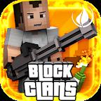 Block Clans -Gun Shooter Pixel