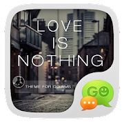 App GO SMS LOVE IS NOTHING THEME APK for Windows Phone