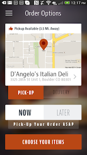 D'Angelo's Deli- screenshot thumbnail