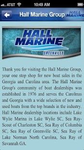 Hall Marine of Greenville - screenshot thumbnail