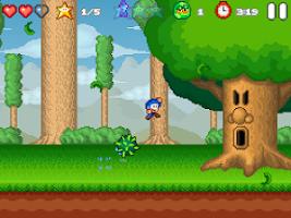 Screenshot of Bloo Kid 2