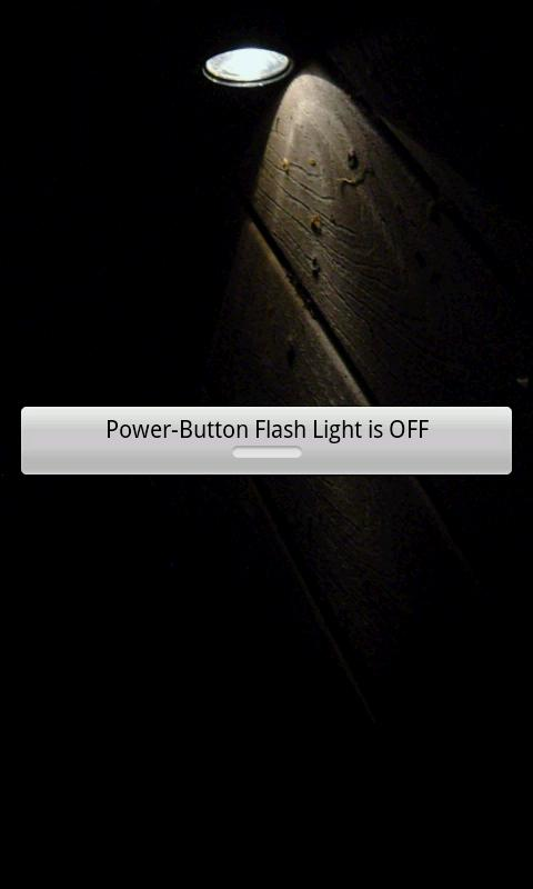 Power-Button Flash Light- screenshot