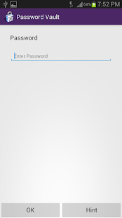 Password Vault Screenshot