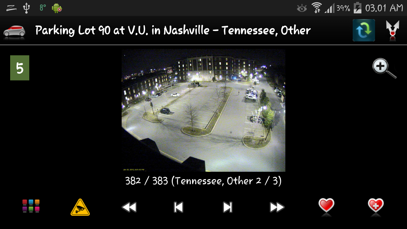 Cameras Tennessee traffic cams- screenshot