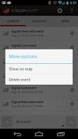 Screenshot of No Signal Alert Pro