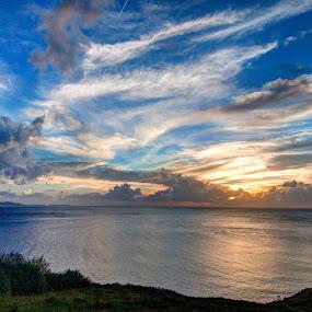 Serenity by Victor Roman - Landscapes Sunsets & Sunrises ( sunset, d300, batanes, seascape, nikon,  )