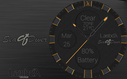 Lambdλ™ Sea Diver Watch Face