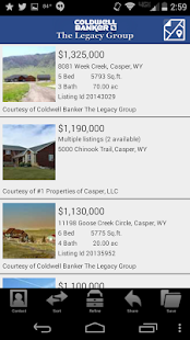 Coldwell Banker The Legacy Grp - screenshot thumbnail