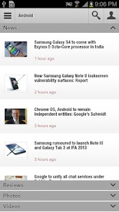 NDTV Gadgets- screenshot thumbnail