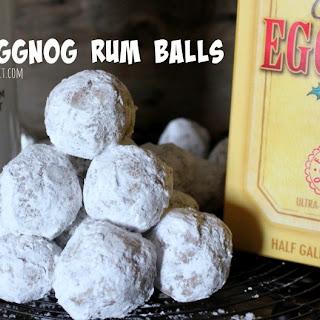 ~Eggnog Rum Balls!