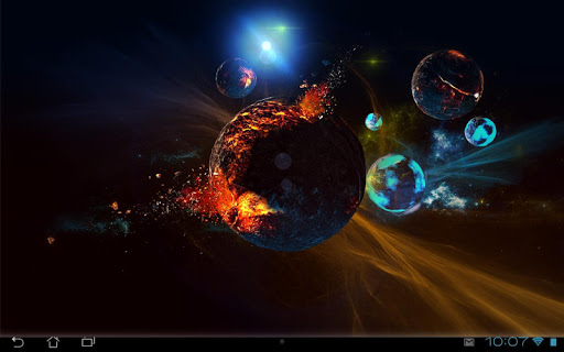 Deep Space 3D Pro lwp Apps para Android screenshot