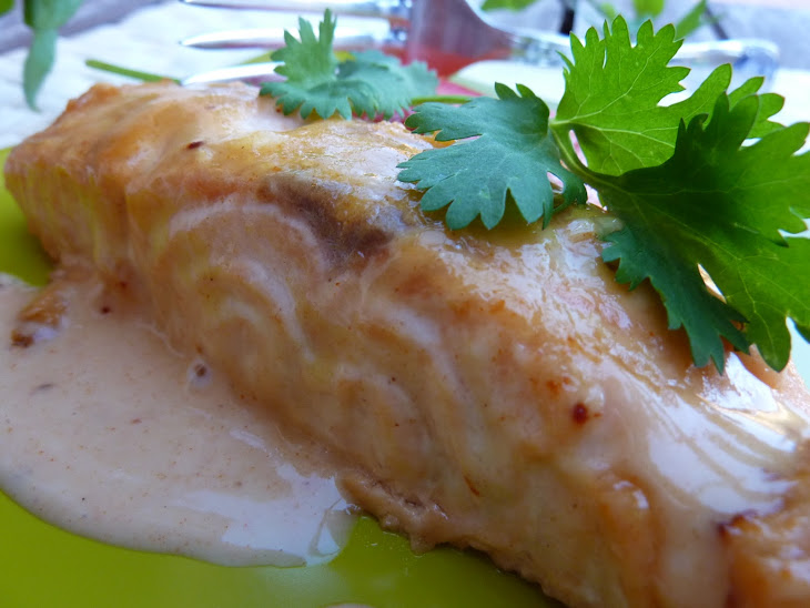 Salmon with Honey and Mustard