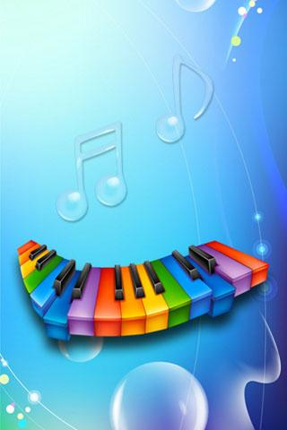 3D Piano - screenshot