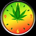 Weed Ganja Clock icon