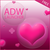 Hearts Theme for ADW Launcher