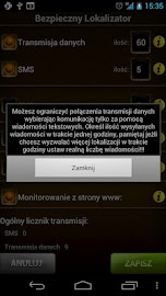 Bezpieczny Lokalizator 3.5 Screenshot 6