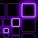 The Grid Live Wallpaper PURPLE