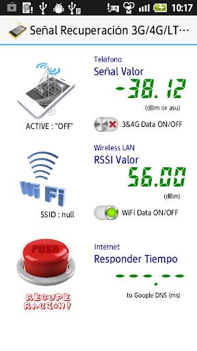 Señal Recuperación 3G 4G WiFi