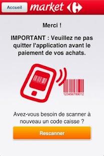 Scan'Phone market– Vignette de la capture d'écran