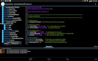 Screenshot of ArduinoDroid - Arduino IDE