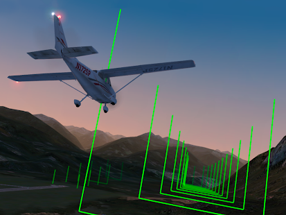 X-Plane 10 Flight Simulator Screenshot