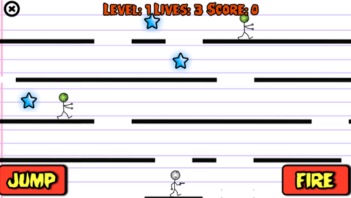 Stickman vs Zombies and Ghosts
