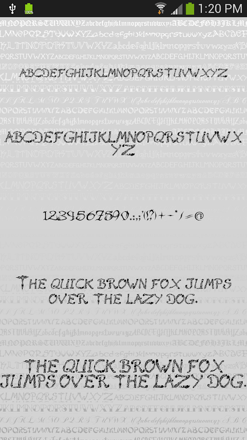 spesso Tattoo per FlipFont® gratis - App Android su Google Play XD02