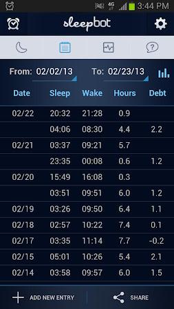 SleepBot - Sleep Cycle Alarm 3.2.8 screenshot 268012