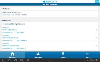 Screenshot of Barclays Zambia